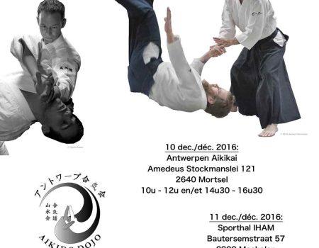 Reminder: stage met Peter Van Marcke en Mickaël Martin 10-11 dec 2016
