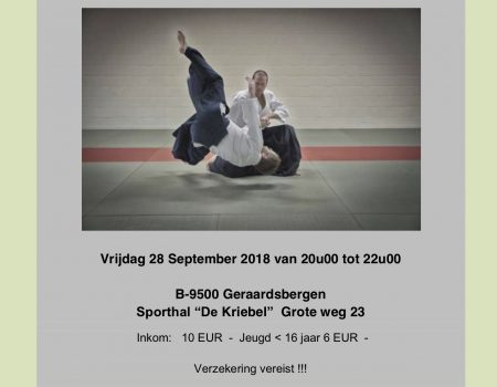 Reminder stage in Geraardsbergen op 28-09-2018