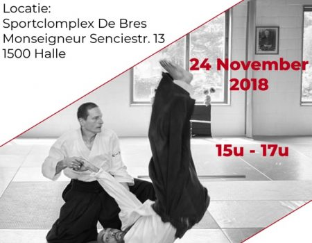 Reminder: stage in Halle op 24 november 2018
