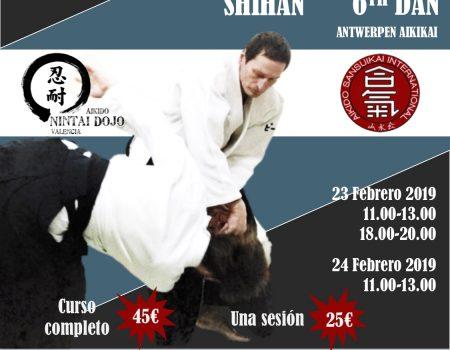 Stage in Valencia op 23-24 februari 2019